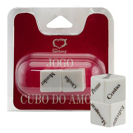JOGO CUBO DO AMOR COM 2 DADOS SEXY FANTASY