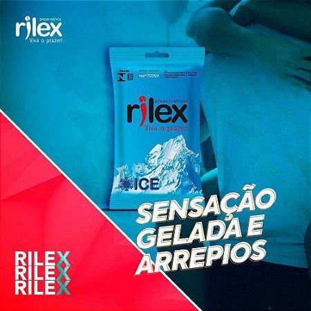 PRESERVATIVO ICE 3 UNIDADES RILEX