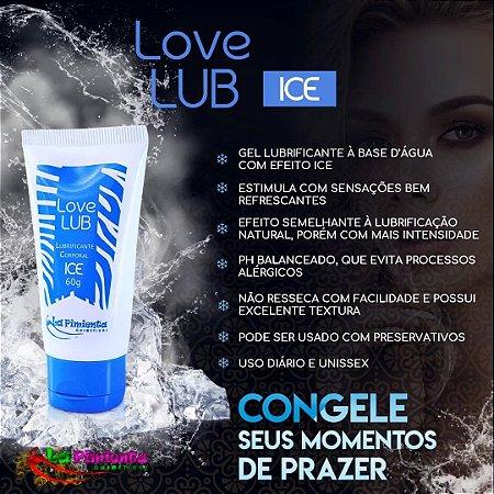 LUBRIFICANTE FUNCIONAL LOVE LUB ICE 60G LA PIMIENTA