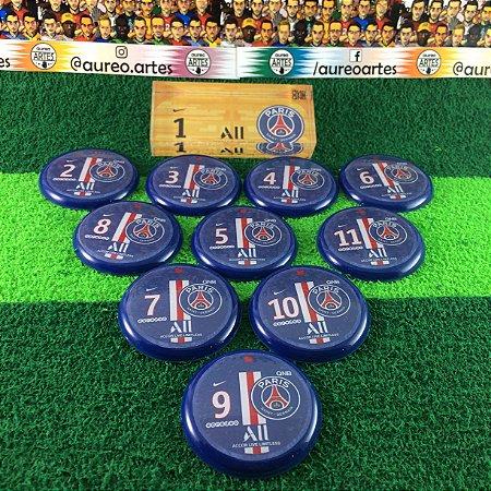 Time De Futebol De Botão - Vidrilha 45mm - PSG