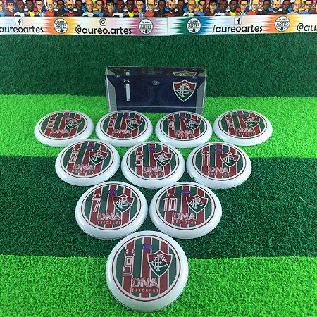 Time De Futebol De Botão - Vidrilha 45mm - Fluminense