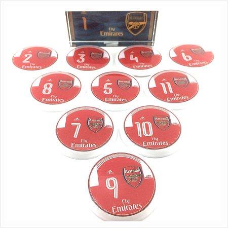 Time De Futebol De Botão - Vidrilha 45mm - Clubes Ingleses
