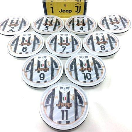 Time Dadinho Oficial - Acrílico Cristal - Juventus