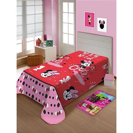 Manta Soft Infantil Disney Minnie Mouse Jolitex