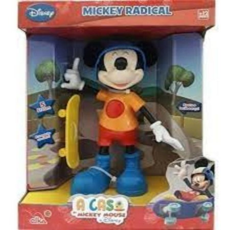 Boneco Mickey Radical Elka  Disney - 900
