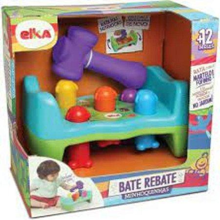 Brinquedo Infantil Educativo Minhoquinha Bate ou Rebate Elka