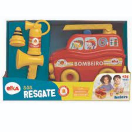 Brinquedo Infantil S.O.S Resgate Bombeiro - Elka 1118