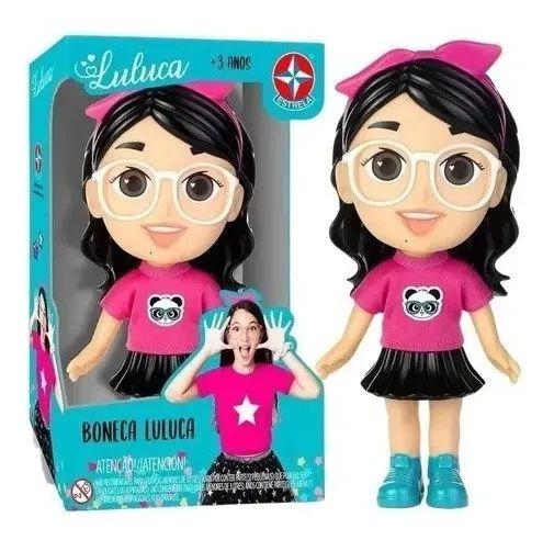 Boneca Personagem Infantil Youtuber Luluca Estrela - 0033