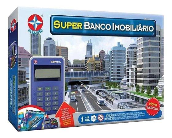 Jogo De Mesa Super Banco Imobiliário Estrela 0034