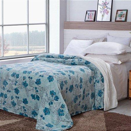 Cobertor Sherpa Estampa Brant 1,80m x 2,20m  - 1156