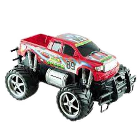 Carro Giant Four Wheeler vermelho  Pick-up 7 Funções-cks