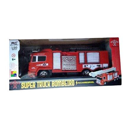 Caminhão Truck Bombeiro de Controle Remoto 618-5c - Cks