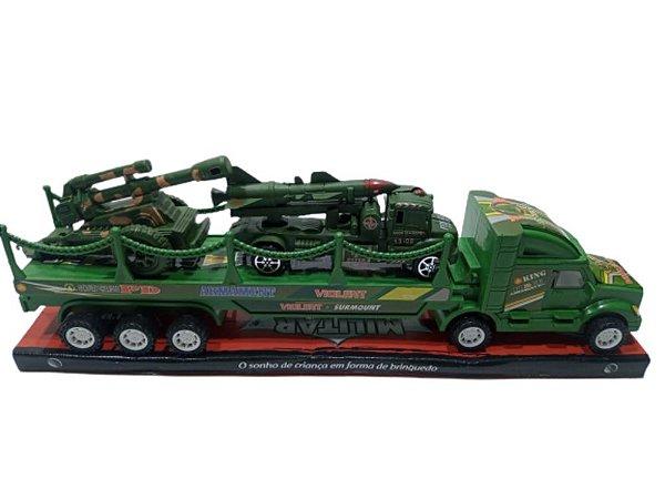 Brinquedo Truck Militar PI3948