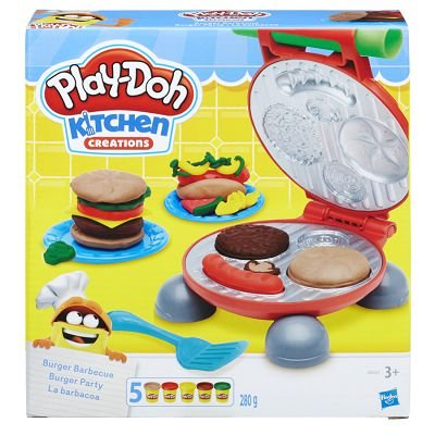 PLAY DOH FESTA DO HAMBURGUER HASBRO- 5521