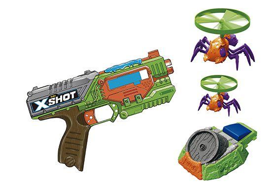 X - SHOT 1XSWARM SEKEER 1X LAUNCHER 2XFLYING BUGS- 5543