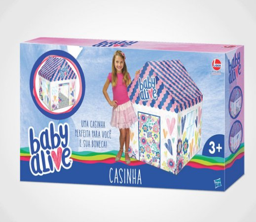 CASINHA BABY ALIVE - LIDER