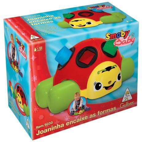 BRINQUEDO JOANINHA BABY GULLIVER- 5030