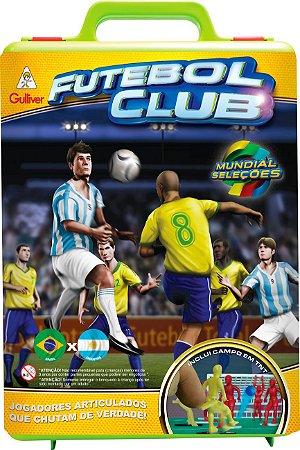 JOGO DE FUTEBOL CLUB BRASIL X ALEMANHA - GULLIVER