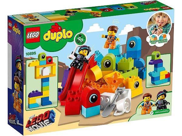 LEGO DUPLO VISITANTES DO PLANETA DUPLO EMMET E LUCY - 10895