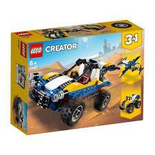 LEGO Creator  Modelo 3 Em 1 Passeio nas Dunas