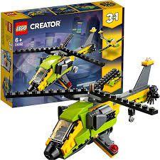 LEGO Creator  Modelo 3 Em 1 Velocidade no Céu e no Mar - 31092