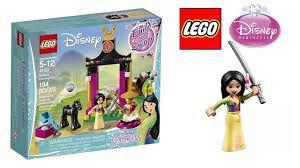 LEGO Disney Dia de Treinamento da Mulan
