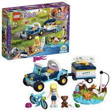 LEGO Friends Buggy e Trailer da Stephanie - 41364