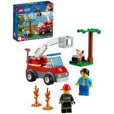 LEGO CITY EXTINÇÃO DE FOGO NO CHURRASCO- 60212
