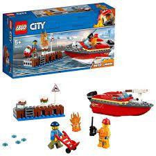 LEGO CITY INCENDIO NA DOCA - 60213