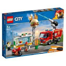 LEGO City Resgate na Hamburgueria