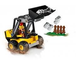 LEGO CITY TRATOR CARREGADOR DA CONSTRUÇÃO- 60219