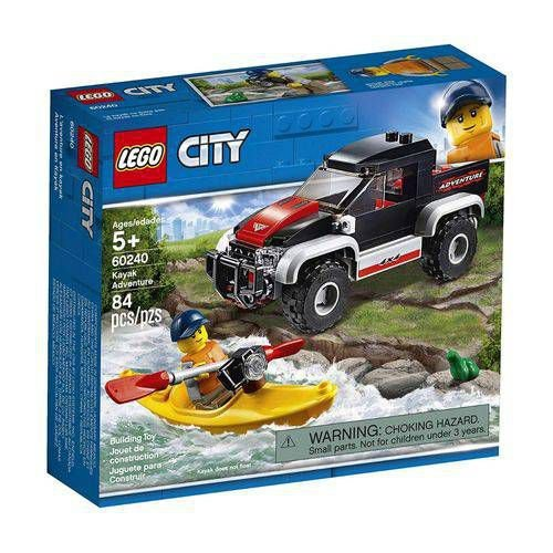 LEGO CITY TRANSPORTANDO O CAIAQUE - 60240