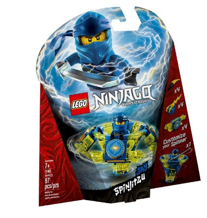 LEGO NINJAGO SPINIJITZY JAY