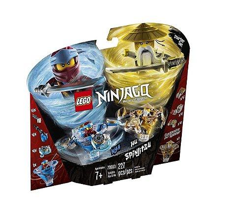 LEGO NINJAGO Spinjitzu Nya e Wu