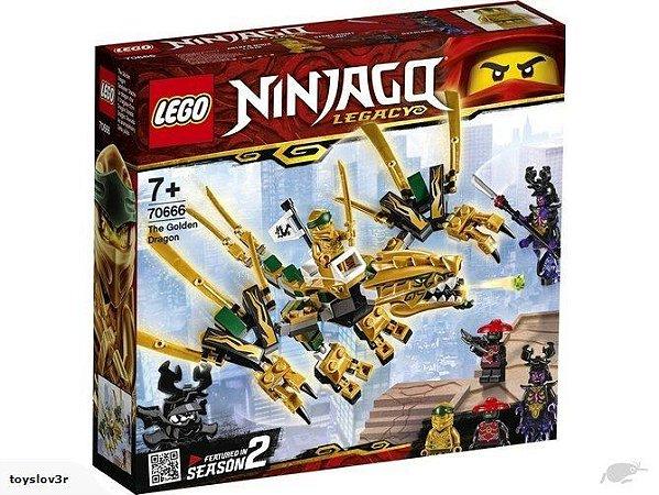 LEGO Ninjago O Dragão Dourado - 70666