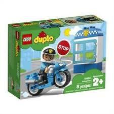 LEGO DUPLO MOTOCICLETA DA POLICIA