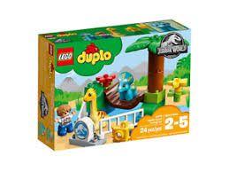 LEGO DUPLO - ZOOLOGICO DE GIGANTES MASOS JURASSIC WORLD