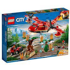 Lego City AVIÃO DE COMBATE AO FOGO  60217
