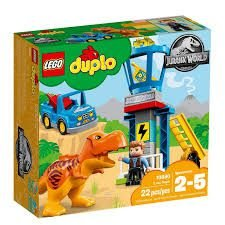 LEGO DUPLO - TORRE DO T-REX JURRASSIC WORLD