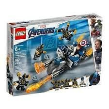 LEGO MARVEL SUPER HEROES - CAPITAO AMERICA: ATAQUE OUTRIDERS - 76123