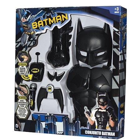 BRINQUEDO CONJUNTO BATMAN  BABY BRINK- 9504