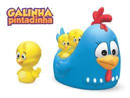 BRINQUEDO BABY BANHO GALINHA PINTADINHA E PINTINHOS LIDER- 2260