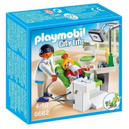 PLAYMOBIL CITY DENTISTA E PACIENTE