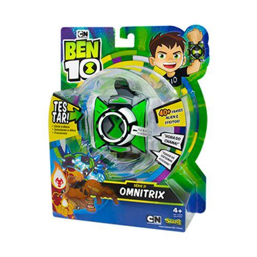 OMNITRIX BRINQUEDO RELOGIO  BEN 10  SUNNY