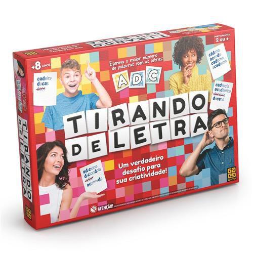 JOGO TIRANDO DE LETRA GROW- 3447