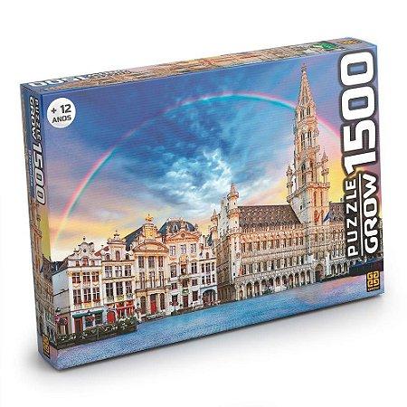 QUEBRA CABEÇA PUZZLE 1500 PCS BRUXELAS - GROW