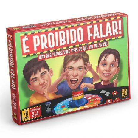 JOGO E PROIBIDO FALAR GROW- 3454
