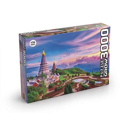 QUEBRA CABEÇA PUZZLE 3000 PÇS TAILANDIA GROW- 3738