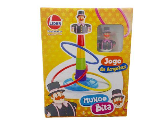 JOGO DE ARGOLAS MUNDO BITA  LIDER-2963