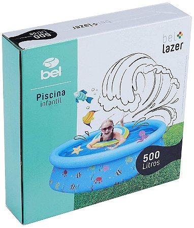 PISCINA INFANTIL ESTAMPA DIVERTIDA 500 L  BEL FIX- 50033